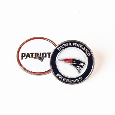 New England Patriots Golf Ball Marker
