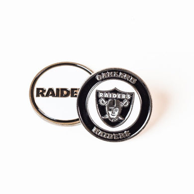 Oakland Raiders Golf Ball Marker