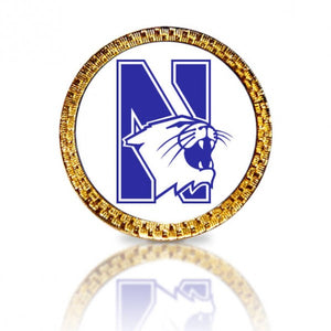 Northwestern University Golf Ball Marker