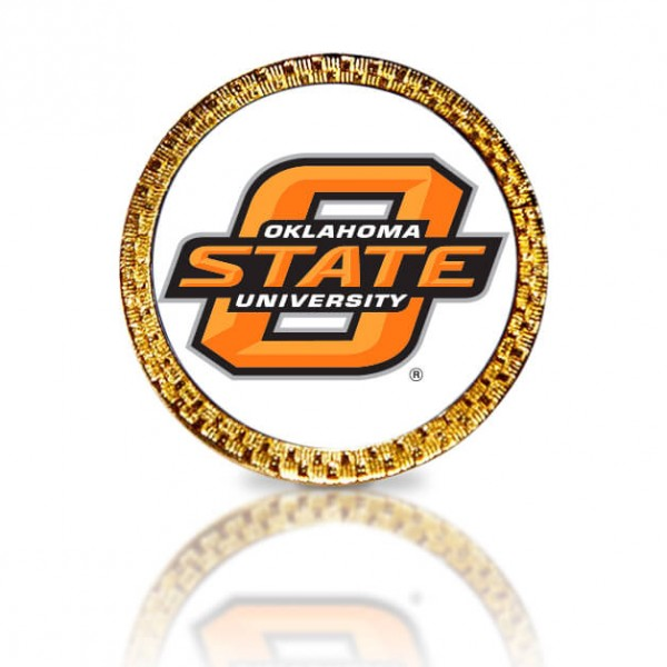 Oklahoma State University Golf Ball Marker