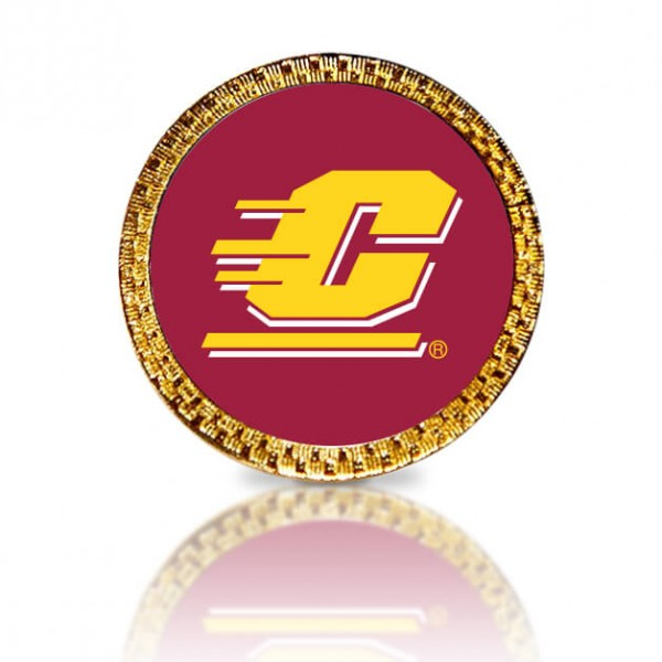 Central Michigan Golf Ball Marker