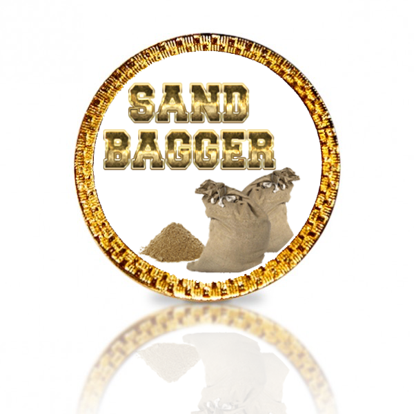 Sand Bagger Golf Ball Marker