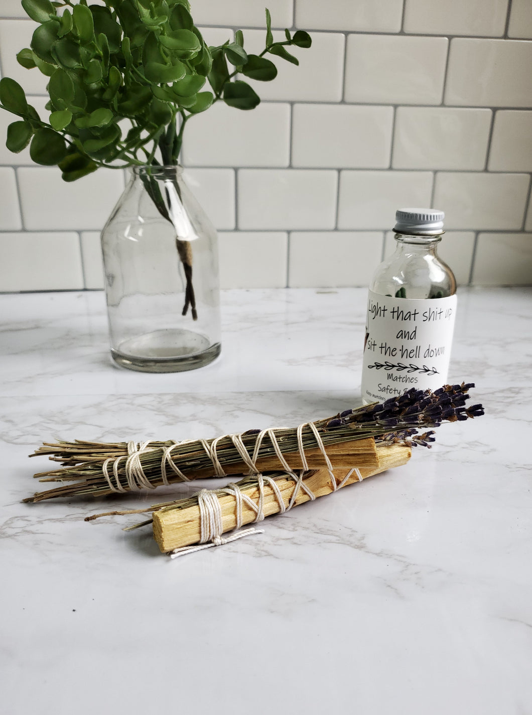Palo Santo and Lavender Stick