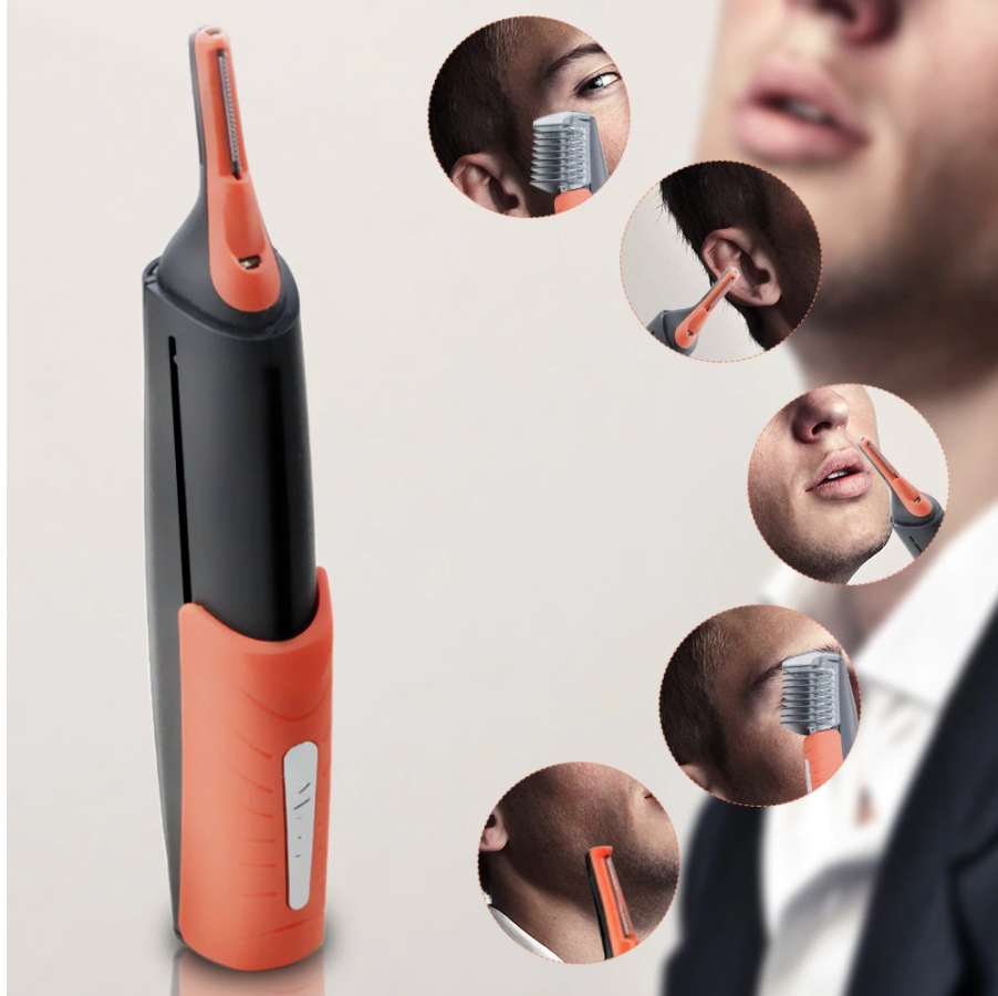 Multifunction Electric Shaver For Men, Cuts & Trims Hair. Eyebrow, Ear, Nose Hair Trimmer & Removal, Shaves & Trims Beard !