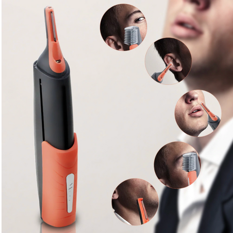 Image of Multifunction Electric Shaver For Men, Cuts & Trims Hair. Eyebrow, Ear, Nose Hair Trimmer & Removal, Shaves & Trims Beard !