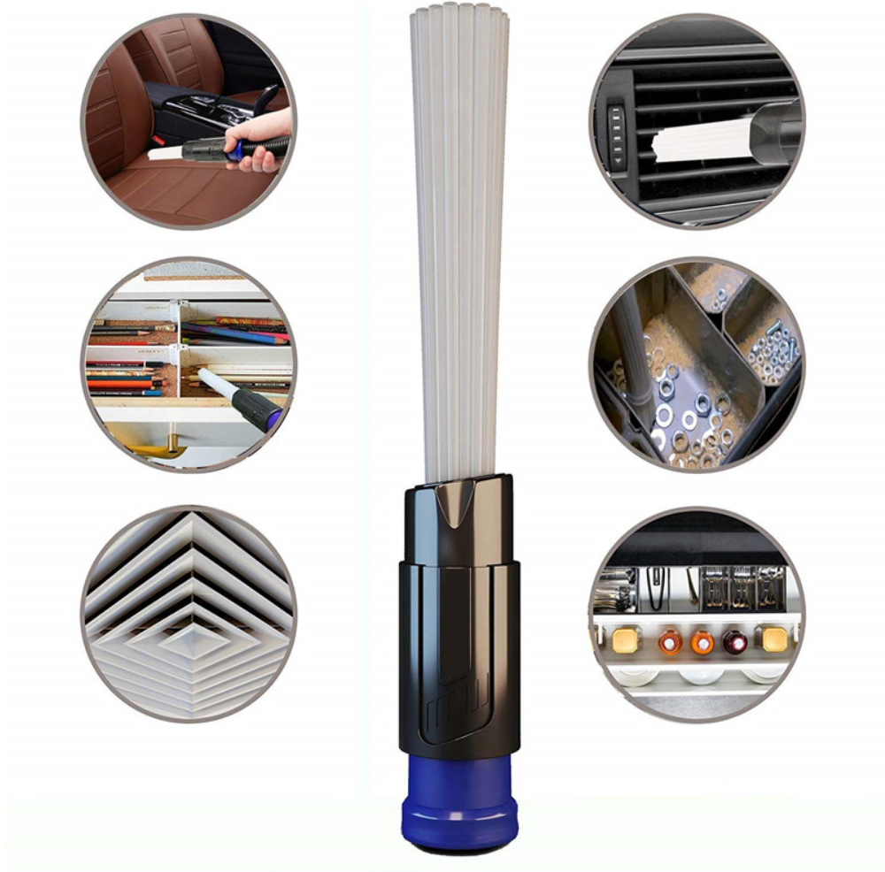 Multi-functional Dusty Brush Daddy Cleaning Tool attachment brush universal adaptor, fits Dyson, Phillips, Samsung !