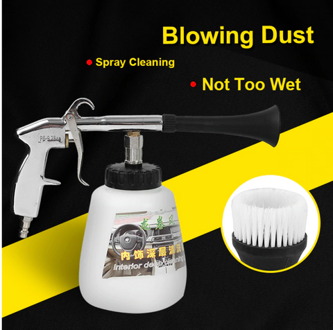 Image of Tornado Car High Pressure Washer Automobiles Water Gun Car Dry Cleaning Gun Deep Clean Washing Accessories Tornado Cleaning Tool