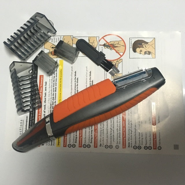 Multifunction Shaver For Men, Cuts & Trims Hair. Eyebrow, Ear, Nose Hair Trimmer & Removal, Shaves & Trims Beard !