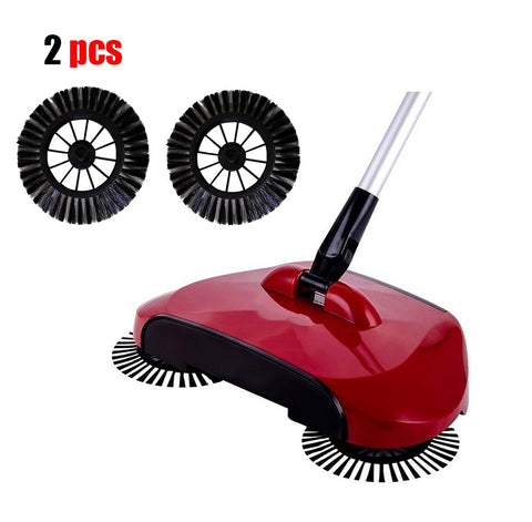2 Pieces of 360 Degrees Vacuum replacement broom Side Brushes