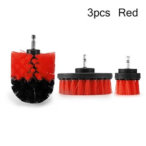 Image of 3pcs Power Scrubber Brush Set For Bathroom Drill Scrubber Brush For Cleaning Cordless Drill Attachment Kit Power Scrub Brush