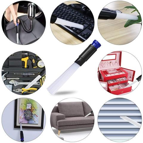 Multi-functional Portable Straw Tube Brush Cleaner,  Dirt Remover With Vacuum Attachment Tool !
