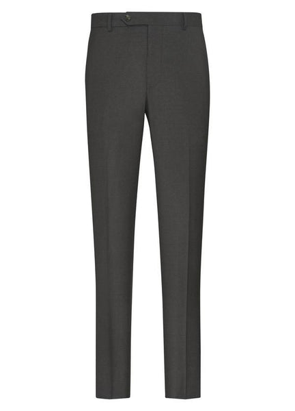 Samuelsohn Grey Ice Wool Suit - Classic Fit