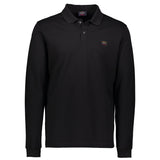 Paul & Shark Long Sleeved Polo Shirt C0P1001 - Black