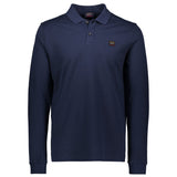 Paul & Shark Long Sleeved Polo Shirt C0P1001 - Navy