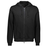 Paul & Shark Sweatshirt With Hood And Zip  C0P1017 - Black