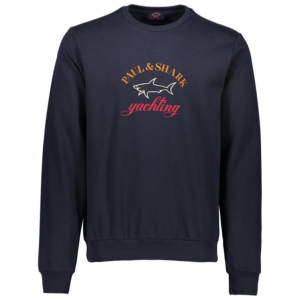 Paul & Shark Sweatshirt With Embroidered Logo C0P1021 - Navy
