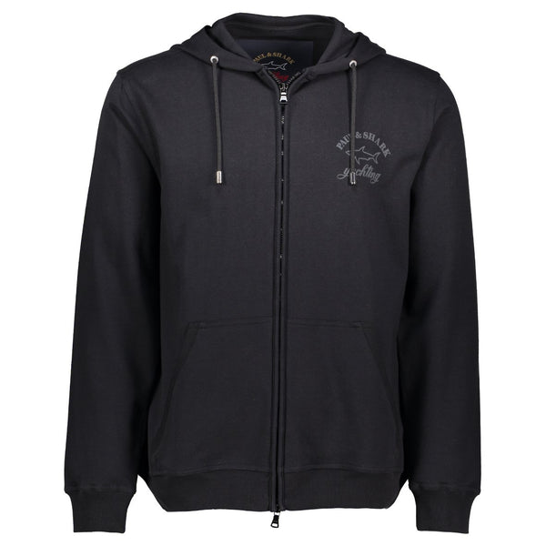 Paul & Shark Cotton Hoodie C0P1022 - Black