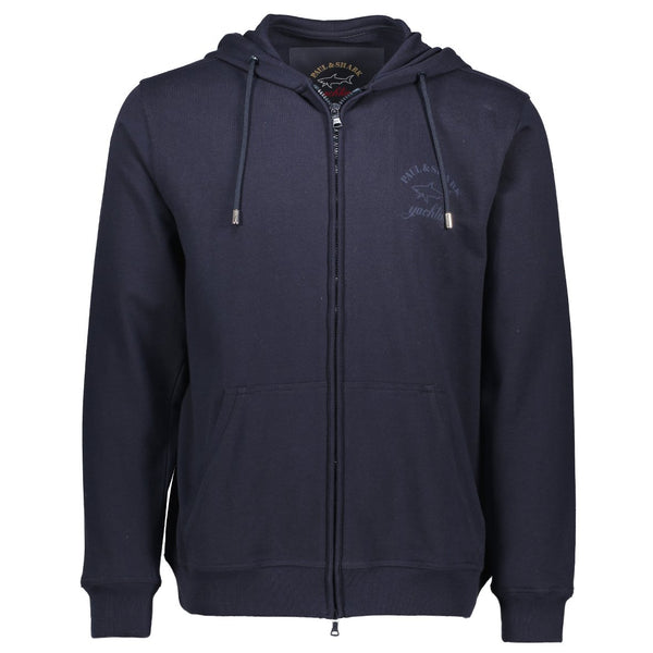 Paul & Shark Cotton Hoodie C0P1022 - Navy
