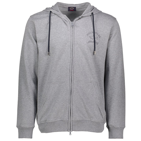 Paul & Shark Cotton Hoodie C0P1022 - Mid Grey