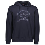 Paul & Shark Sweatshirt With Hood And Print C0P1023 - Navy
