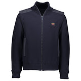 Paul & Shark 4 In 1 Wool Jacket With Detachable Sleeves C0P1037 - Navy