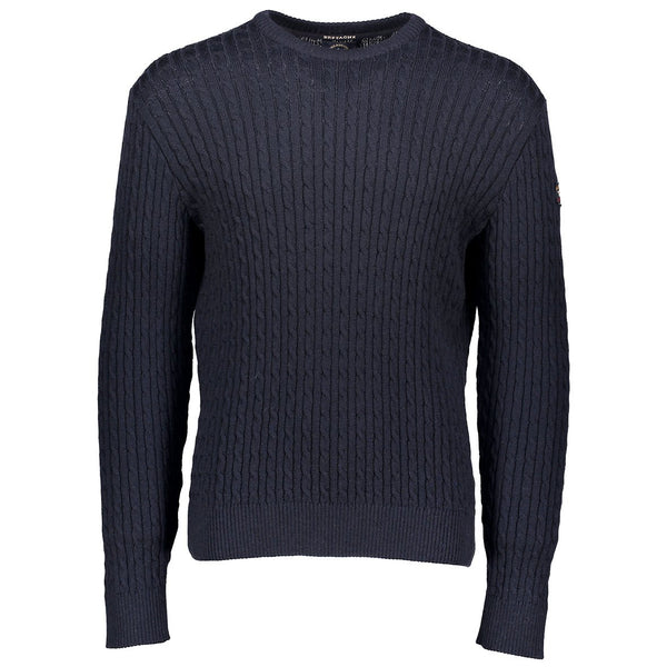 Paul & Shark Wool Cable Knit Sweater C0P1045 - Navy