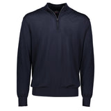 Paul & Shark Wool Sweater With Zip C0P1049 - Navy