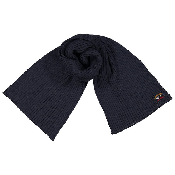 Paul & Shark Wool Scarf C0P1059 - Navy
