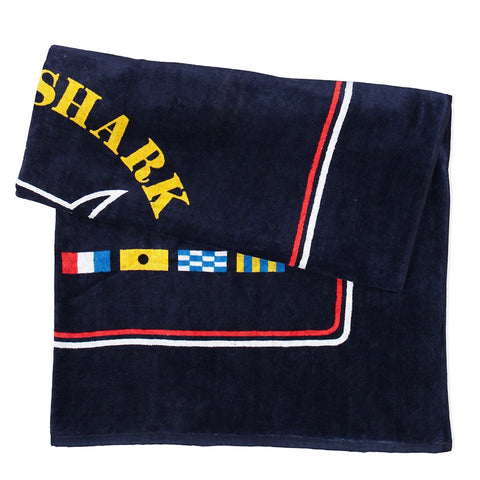 Paul & Shark Cotton Beach Towel C0P1060 - Navy