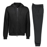 Paul & Shark Cotton Sweat Track Suit C0P1064 - Black