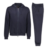 Paul & Shark Cotton Sweat Track Suit C0P1064 - Navy