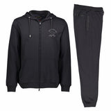 Paul & Shark Cotton Sweat Track Suit C0P1065   - Black