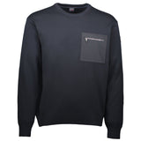 Paul & Shark Wool Sweater With Pocket C0P1069 - Navy