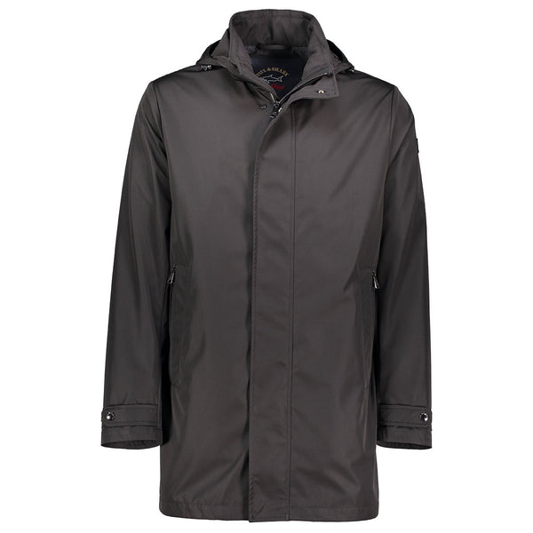 Paul & Shark Single-Breasted Jacket In Technical Fabric