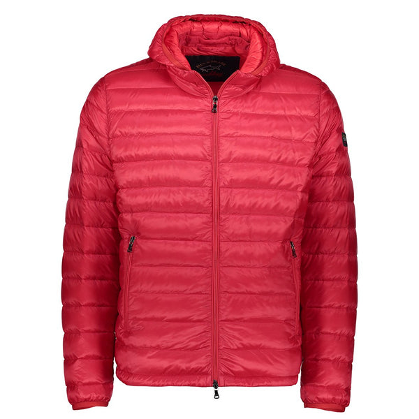 Paul & Shark Padded Jacket With Detachable Hood C0P2008 - Red
