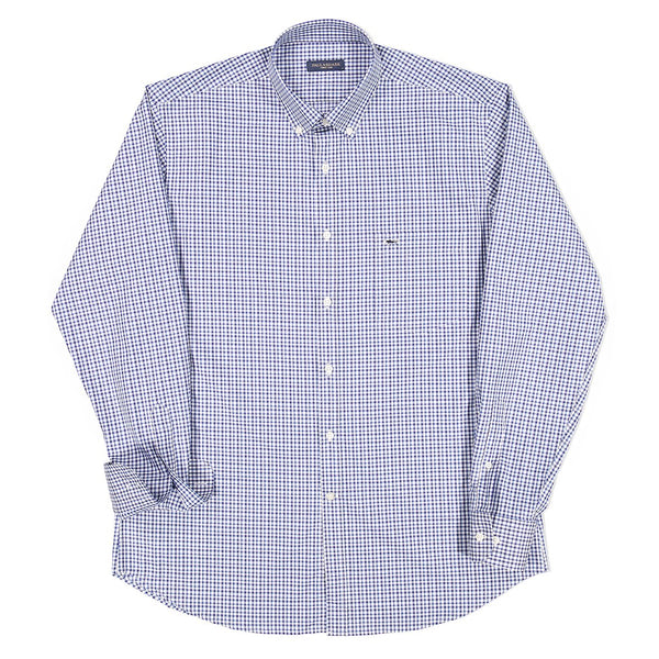 Paul & Shark Check Motif Shirt C0P3007 -
