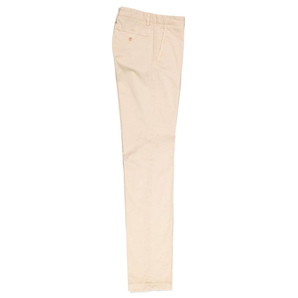 Paul & Shark Stretch Cotton Chino Trousers C0P4002 - Ivory