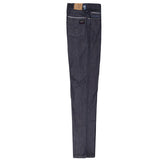 Paul & Shark 5 Pocket Jeans With Light Indigo Embroidery C0P4004 - Light Blue