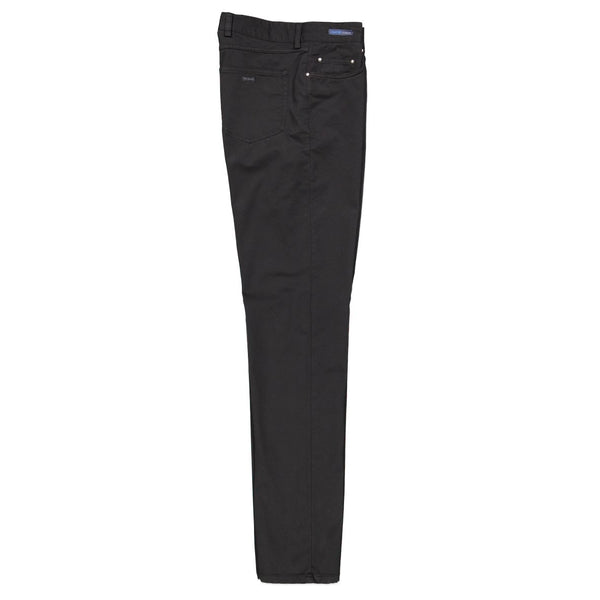 Paul & Shark Stretch Cotton 5 Pocket Trousers C0P4007 - Black