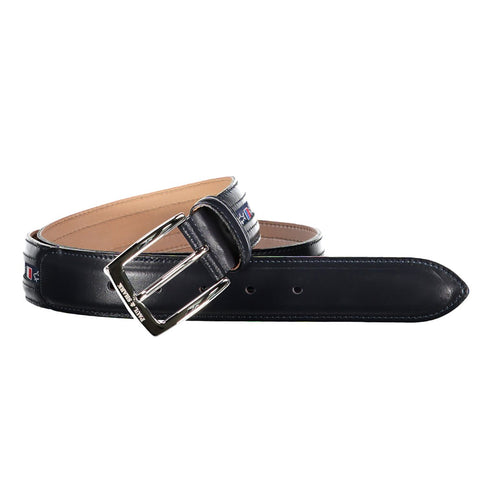 Paul & Shark Adjustable Leather Belt C0P6000 - Navy