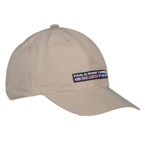Paul & Shark Baseball Hat C0P7101 - Beige