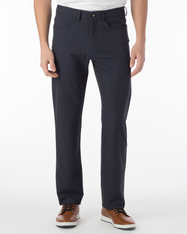 Ballin Pants - Crescent Commuter Bi-Strech Gabardine - Blue Mix