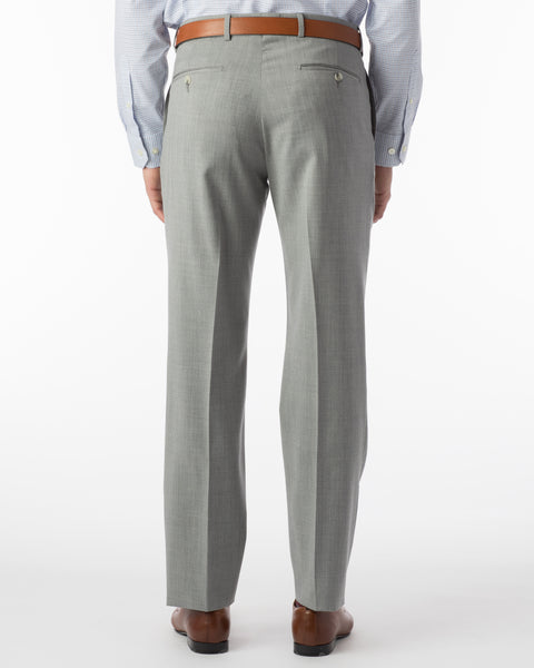 Ballin Pants - Soho Super 120's Gabardine - Pearl Grey
