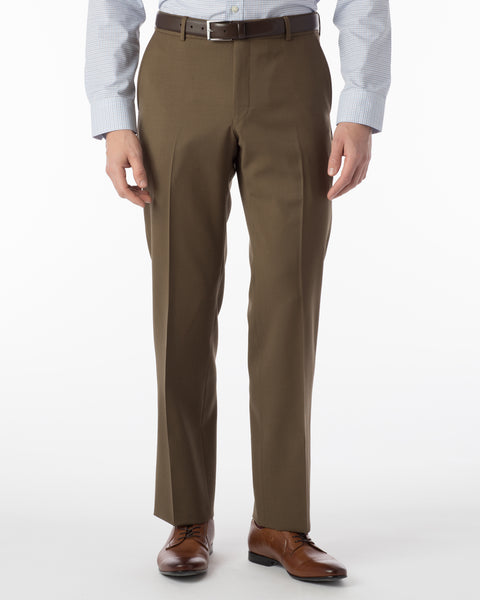 Ballin Pants - Soho Super 120's Gabardine - Saddle