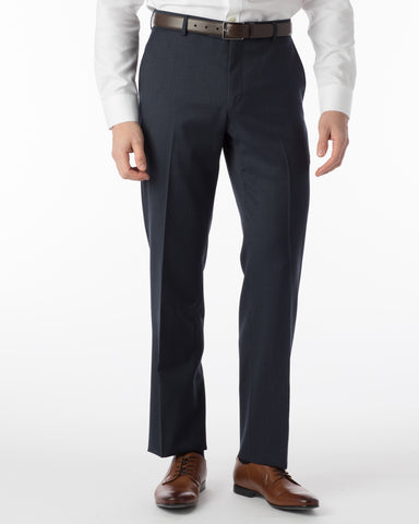 Ballin Pants - Soho Super 120's Gabardine - Navy Mix