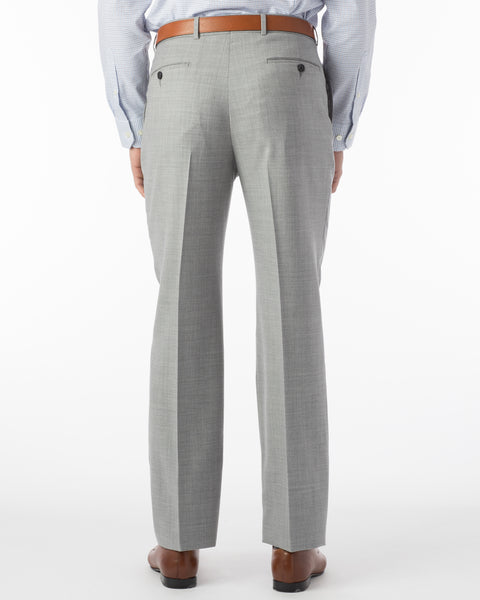 Ballin Pants - Dunhill Super 120's 4 Harness Serge - Light Grey