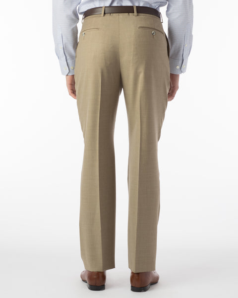 Ballin Pants - Dunhill Super 120's 4 Harness Serge - Tan