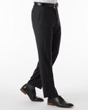 Ballin Pants - Soho Super 120's 4 Harness Serge - Charcoal