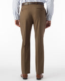 Ballin Pants - Soho Super 120's 4 Harness Serge - Tabacco