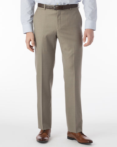 Ballin Pants - Soho Super 120's 4 Harness Serge - Taupe
